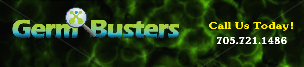 Germ Busters Logo- Science of Decontamination